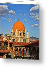 Mission Inn Dome Greeting Card