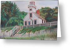 Mission Point Lighthouse Greeting Card