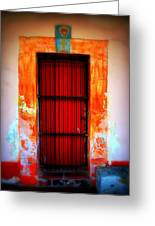 Mission Red Door Greeting Card