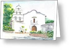 Mission San Diego Greeting Card