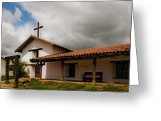 Mission San Francisco De Solano Greeting Card