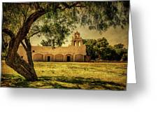 Mission San Juan Church Greeting Card