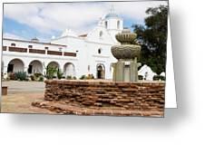 Mission San Luis Rey Greeting Card