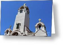 Mission San Rafael Arcangel Greeting Card
