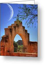 Mission San Xavier Del Bac Greeting Card