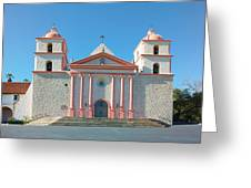 Mission Santa Barbara Greeting Card