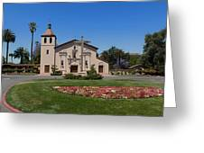 Mission Santa Clara De Asis Greeting Card