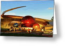 Mission Space Greeting Card