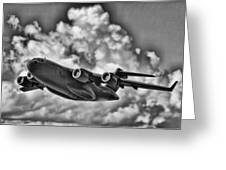 Mission-strategic Airlift Greeting Card