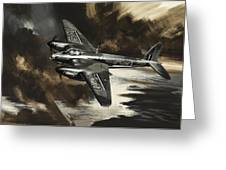 Mission To Danger Greeting Card