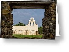 Mission View Greeting Card