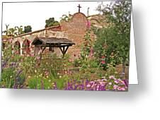 Mission Wish, Mission San Juan Capistrano, California Greeting Card