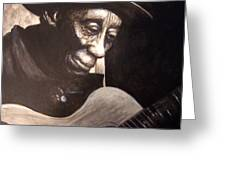 Mississippi John Hurt Greeting Card