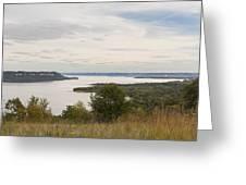 Mississippi River Lake Pepin 10 Greeting Card