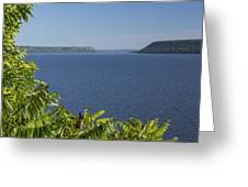 Mississippi River Lake Pepin 2 Greeting Card