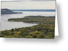 Mississippi River Lake Pepin 7 Greeting Card