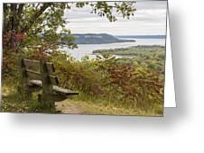 Mississippi River Lake Pepin 8 Greeting Card