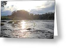 Mississippi River Victory At Sea Greeting Card
