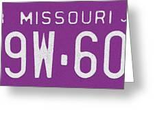 Missouri '78 Greeting Card