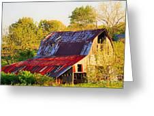 Missouri Barn Greeting Card