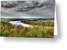 Missouri River Greeting Card