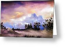 Mist After The Storm Greeting Card