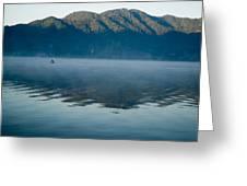 Mist On Lake Atitlan Guatemala Greeting Card