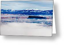 Mist Over Canyonlands I Greeting Card