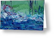 Mistery Pond Greeting Card