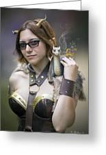 Mistress Of Dragons Greeting Card