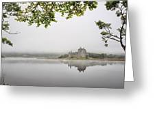 Misty Castle Greeting Card