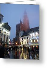 Misty Cathedral Greeting Card
