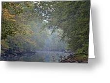 Misty Creek Greeting Card