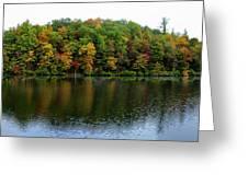 Misty Day On Lake Winfield Scott Greeting Card