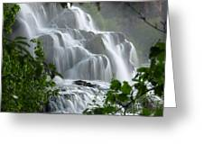 Misty Falls Greeting Card