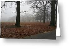Misty Greeting Card