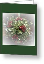 Misty Mistletoe Greeting Card