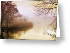Misty Morn Greeting Card by Jessica Jenney