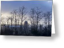 Misty Mornings  Greeting Card
