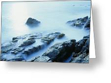 Misty Ocean Greeting Card