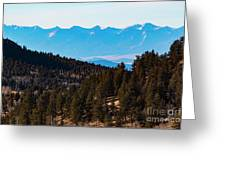 Misty Sangre View Greeting Card