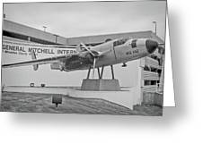 Mitchell International Airport Greeting Card