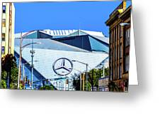 Mercedes Benz Stadium Greeting Card