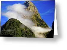 Mitre Peak Greeting Card