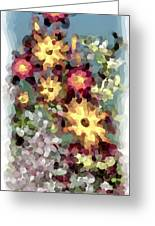 Mixed Floral Greeting Card