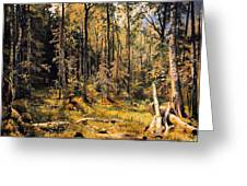 Mixed Forest Greeting Card