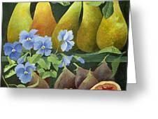 Mixed Fruit Greeting Card