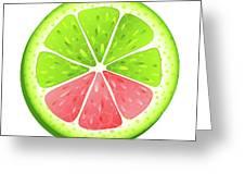 Mixed Lemon Greeting Card