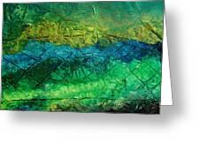 Mixed Media 02 By Rafi Talby Greeting Card