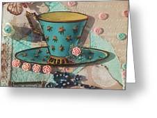 Mixed Media - Coffee Cup  Greeting Card